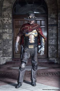 Cosplayer: Darkforce Cosplay Photographer: Reagan Smash Productions Character: McCree From: Overwatch Country: Australia