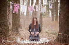 Baby girl maternity shoot.