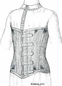 Man's corset 1907