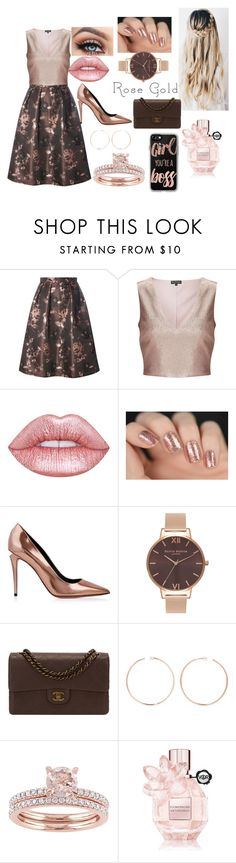 """Untitled #60"" by kimberlylopezfhoney ❤ liked on Polyvore featuring Luxe, Miss Selfridge, Lime Crime, Alexander Wang, Olivia Burton, Chanel, Anita Ko, Viktor & Rolf and Casetify"