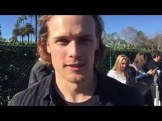 Outlander | Interview ~ Sam Heughan @ United Voices Rally - YouTube