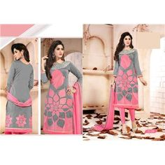 Buy Salesway Pink Georgette Dress Material by salesway, on Paytm, Price: Rs.1249?utm_medium=pintrest