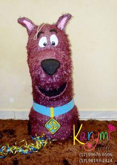 Pinhata Scooby Doo #scoobydoopinata #pinhatascooby