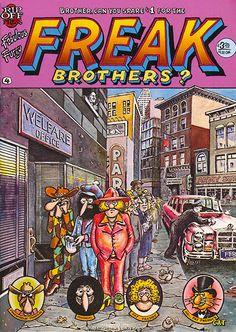 The Fabulous Furry Freak Brothers #4 by Gilbert Shelton (underground comics)