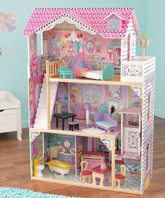 Take a look at this Annabelle Dollhouse & Furniture by KidKraft on #zulily today!