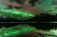 Aurora Borealis over Two Jack Lake by john price on 500px