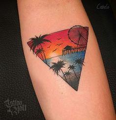 Tattoo feita pelo @cabeloooo Para consultas e agendamentos : Av. Dr. Cardoso de Melo,  320 - Vila ...