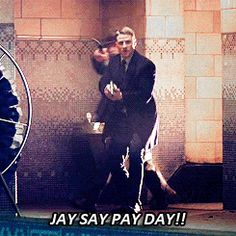 "Ots not a Gotham episode without Jim yelling, ""Jay Say Pay Day! """