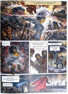 Juan Gimenez achève avec brio sa saga d'Heroïc Fantasy chez Glénat - Actua BD: l'actualité de la bande dessinée