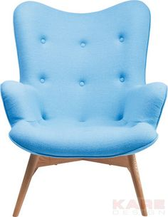 Arm Chair Angels Wings Blue New Design