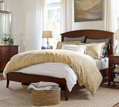 Chloe Bed | Pottery Barn