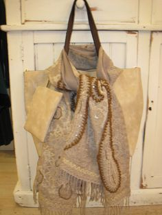 #NaturalShades ~ Beautiful Embroidered Shawl ~ Stylish Shoulder Bag #DanielliBoutique #Dartmouth
