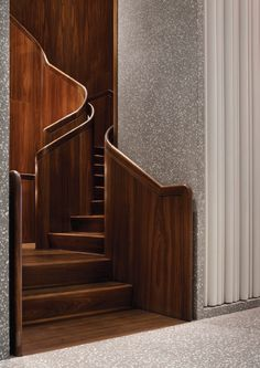 Interior Staircase, Arch Interior, Staircase Design, Interior And Exterior, Brown Interior, Stair Handrail, Staircase Railings, Stairways, Architecture Details