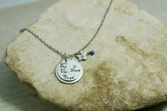Hey, I found this really awesome Etsy listing at https://www.etsy.com/listing/230327550/personalized-hand-stamped-necklace-love