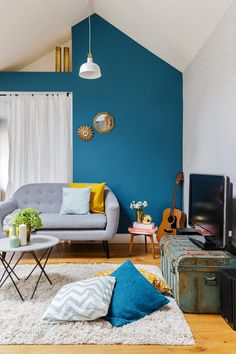 Home staging avant-vente d'un appartement de 66 m2 réalisé par Jennifer Decaux FOUR LIONS contact : 06 42 20 53 45 /// j.decaux@fourlions-paris.com