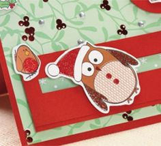 Quirky Owl Slider Christmas Card