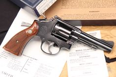 Smith & Wesson, S&W Model 15-3 K-38 Combat Masterpiece Revolver - In The Box Item: 11322171   Mobile GunAuction.com