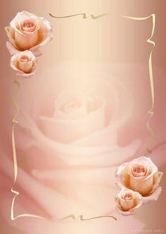 Roses e Gilberto Framed Wallpaper, Flower Background Wallpaper, Frame Background, Flower Backgrounds, Wallpaper Backgrounds, Wallpapers, Boarders And Frames, Invitation Background, Birthday Frames