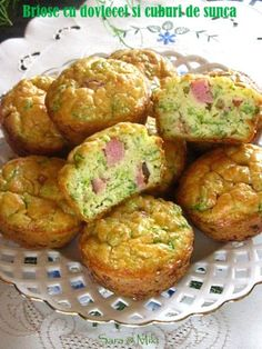 » Placinte cu branza si spanac in tigaieCulorile din Farfurie Baby Food Recipes, My Recipes, Cooking Recipes, Healthy Recipes, Quiche, Appetizer Recipes, Appetizers, Good Food, Yummy Food