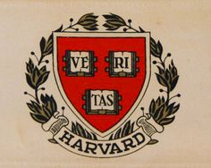 HARVARD logo is broken Truth: VE RI TAS