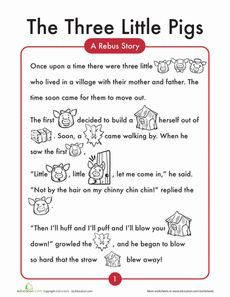 the three little pigs activities pdf - Buscar con Google