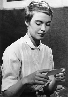 One of the true OGs of pixie cuts came straight from French flick indie darling Jean Seberg, who always kept her pixies closely cropped to her head.