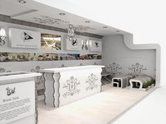 Orient Hotels Xanita Board Concept - counter detail