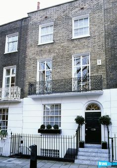 Traditional London townhouse