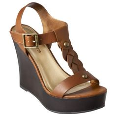 Shop for Women's Washi Wedge Sandal - Assorted Colors by Mossimo at ShopStyle. Women's Shoes Sandals, Wedge Sandals, Wedge Shoes, Shoe Boots, Cute Shoes, Me Too Shoes, Going Barefoot, Brown Wedges, Neutral Wedges