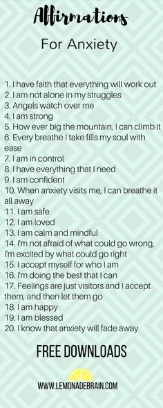 Anxiety Affirmations have been used extensively at our house and using them has been a huge success. Okay, let be real for a moment, I have anxiety and some days it's so bad I feel like a rhino is sitting on my chest. My shoulders will start to ache and m Positive Affirmations Quotes, Affirmation Quotes, Positive Quotes, Affirmations For Success, Anxiety Help, Stress And Anxiety, Anxiety And Depression, Get Rid Of Anxiety, Raising Kids