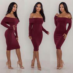 New Foldover Ribbed Midi Dress Posh Shop, Strapless Dress, Bodycon Dress, Dress Ootd, Shoulder Dress, Instagram Posts, Shopping, Amazing, Dresses