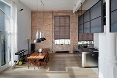 A Redesigned Loft Apartment In Amsterdam Gets A Touch Of Industrial