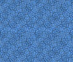 gypsy_swirls_skyblue fabric by glimmericks on Spoonflower - custom fabric