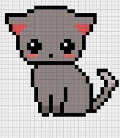 Kawaii Pixel Art With Grid Google Search Perler Beads