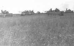 Tiger tanks in combat Bjelgorod 1943