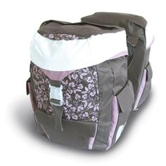 Basil Sports Womens Double Rear Bag Water Repellent Lilac 38L