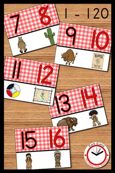 You can count on this WILD WEST NUMBER LINE to help your students recognize numerals, understand number order, count forward and backward, identify even and odd numbers, and so much more.  #classroomnumberline #numberline1-120 #numberlineposters #numberlinedisplay Teaching Tools, Teaching Math, Teaching Resources, Teaching Ideas, Wild West Theme, Ordering Numbers, Cowboy Theme, Even And Odd, Back To School Activities