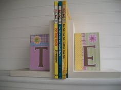 Book Ends Children Nursery Playroom by RessieLillian on Etsy