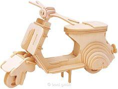 Bartl, Gepetto`s Scooter, Bausatz aus 4 vorgestanzten Platten | 110910