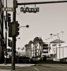 Las Vegas specifically Fremont Street before it was covered....looked like this when we went there in 68