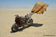 Mad Max Fury Road - Bike.. hahaha it has a sail to save on gas, I like it.