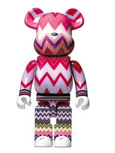Missoni 1000% Love is Big Love is BE@RBRICK   Designers for Charity