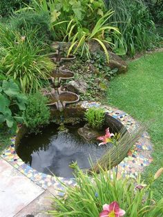 flow form for the garden