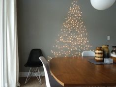 Cool idea, christmas tree made out of lights.  Perfect for my hosue - with three cats.  124658_rect540
