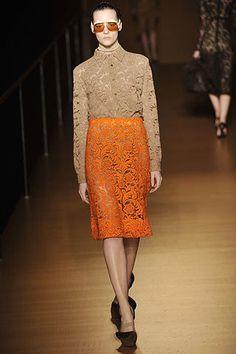 Prada Fall 2008 Ready-to-Wear Fashion Show - Sara Blomqvist