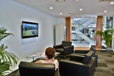 Customer Lounge at Sunshine Ford by Birchall & Partners Architects. Gold Coast, Australia. Architects Ipswich | Architects Brisbane | Architects Gold Coast Brisbane Architects, Coast Australia, Gold Coast, Showroom, Sunshine, Ford, Lounge, Furniture, Home Decor