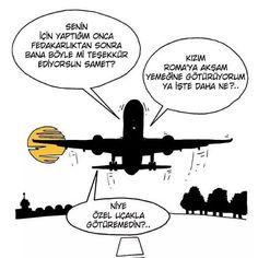 Ve şimdi de acı gerçekler :)) #SH_karikatür