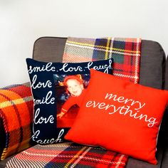 Pillows and blankets are a sure to be a big hit this holiday season.