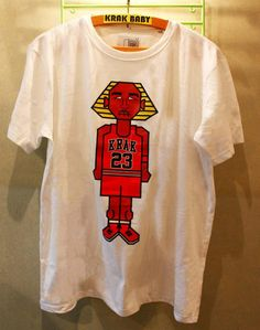 8-bit, SEGA, and The Bulls: It was an epic childhood! Krak Baby streetwear soon on www.cirqy.com #fashion #apparel #egypt