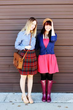 Fun outfits!